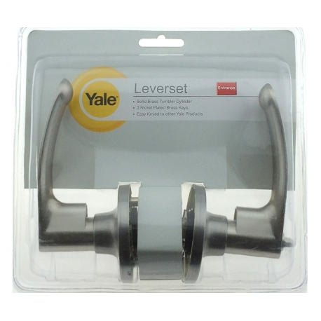 Yale Medium Duty Tubular Lever-Set