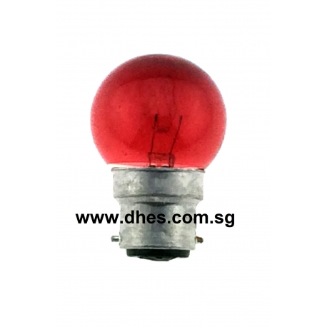 MIKA Red Tinted 5W Light Bulbs