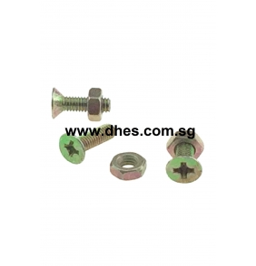 Flat Head Bolts & Nuts
