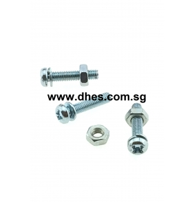 Cross Pan Head Bolts & Nuts