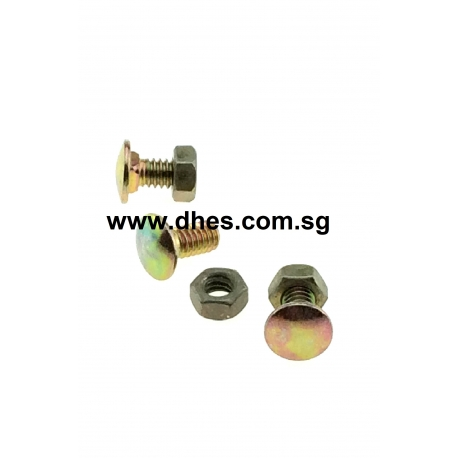 Pan Head Bolts & Nuts (For Angle Bars)