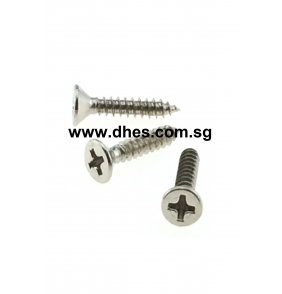 Flat Cross Head Self Tapping Screws