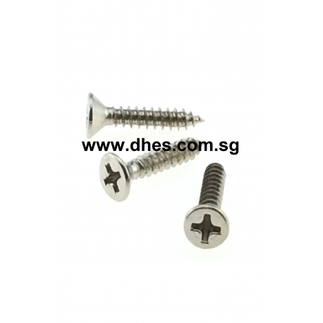 Stainless Steel Flat Cross Head Self Tapping Screws