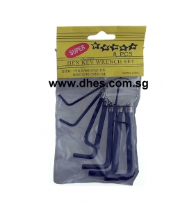 Hex Key Wrench Set - Super 8 Pcs