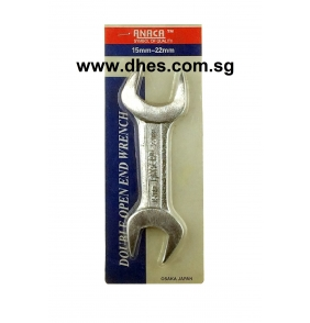 Anaca Double Open Edge Wrench 15-22mm