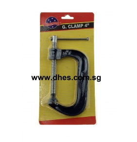 "Medalist 4"" G-Clamp"