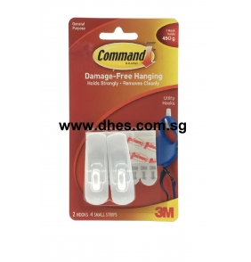 3M Command Opaque Mini Hooks