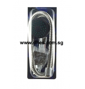 A.Circle Chrome Hand Shower Set
