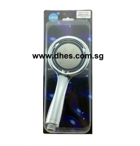 A.Circle High Pressure Plastic Hand Shower