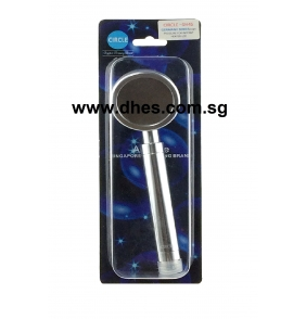 A.Circle High Pressure Aluminum Hand Shower