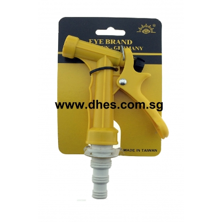 Eye Brand Yellow Hose Nozzle With Long  White Male Connector