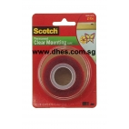 3M Permanent Clear Mounting Tape