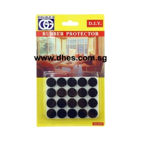 Double.G Black Rubber Protectors