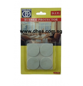 Double.G White Rubber Protectors