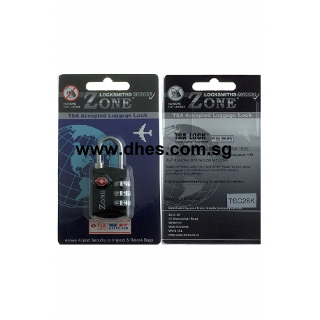 Zone 25mm TSA Luggage Number Combination Locks