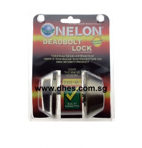 Nelon Antique Brass Deadbolt Locks