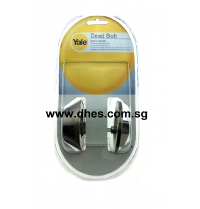 Yale Single Cylinder with Thumb Turn Deadbolts