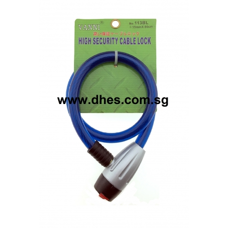Vanni High Security Cable Locks