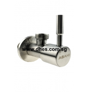 Asahi On/Off Stainless Steel Angle Taps