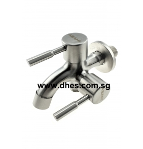 Asahi On/Off Stainless Steel 2 Way Taps