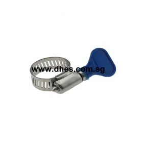 Stainless Steel Hose Clips With Wing Nuts