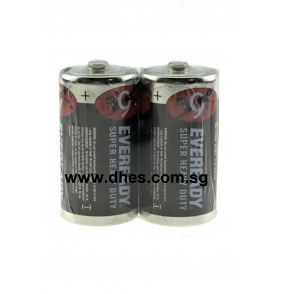 Eveready Super Heavy Duty D Batteries