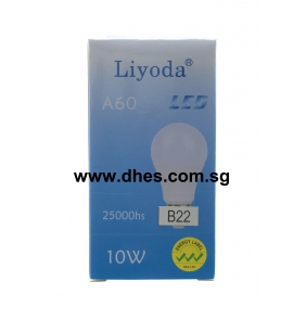 Liyoda 10W B22 A60 LED Bulbs