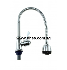 Showy Single Lever Flexible Sink / Bib Tap