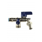 "Showy 1/2"" Garden Tap With Nozzle"