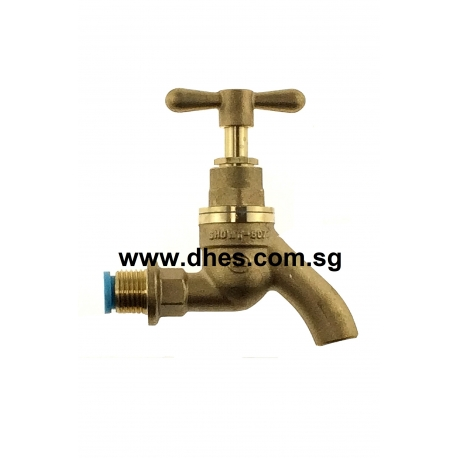 "Showy 1/2"" Nickel Plated Brass Sink / Bib Tap"