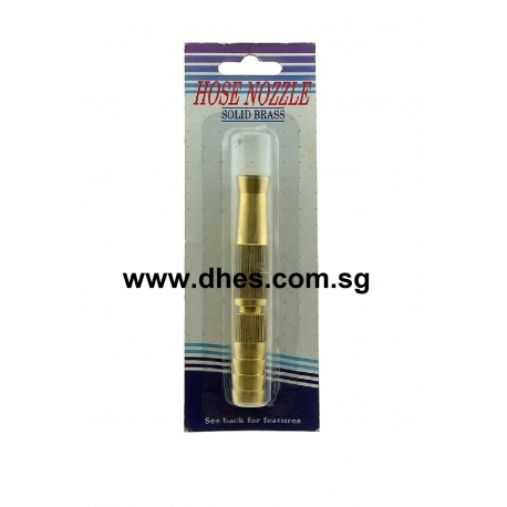 Solid Brass Hose Nozzle