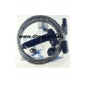 Showy Heavy Duty Shower Rinser C/W Hook