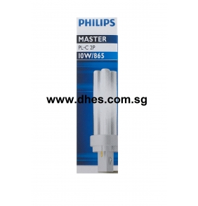 Philips Master PL-C 2 Pin 13W/865 (117mm x 27.1mm)