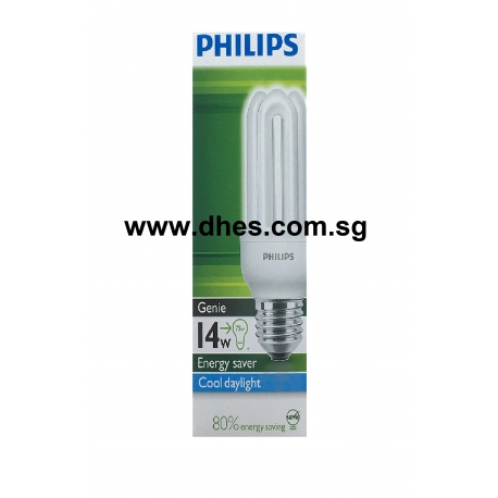 Philips Essential Energy Saving E27 Compact Fluorescent Lamps