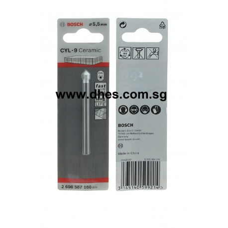 Bosch CYL 9 Ceramic Tile Drill Bits