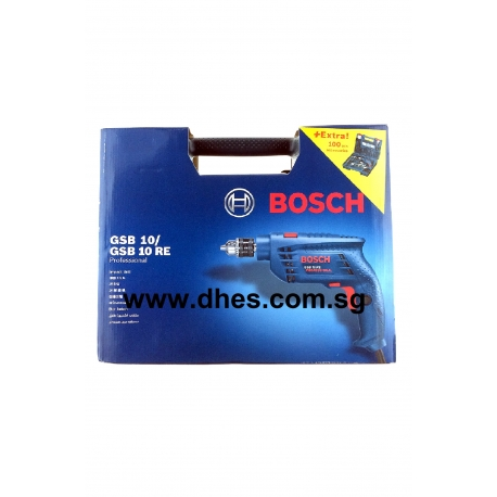 Bosch Impact Drill (100 Pieces Hand Tools Accessories Included)
