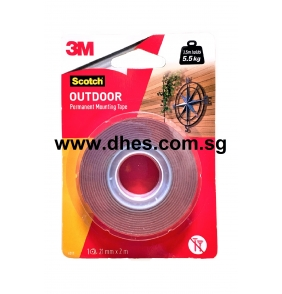 3M Outdoor Permanent Mounting Tape (21mm x 2m)