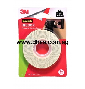 3M Scotch Indoor Permanent Mounting Tapes