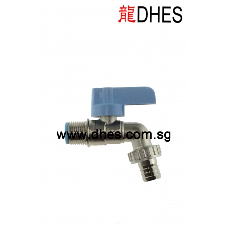 """Showy 1/2"""" Mini Garden Tap With Hose Connector"""