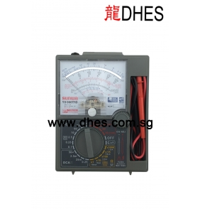 Sunwa Analog Multimeter Drop Shock Proof with Fuse and Diode Protection