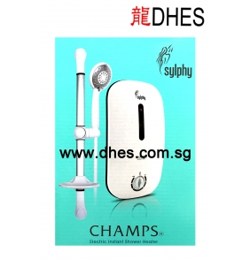 Champs Electric Instant Shower Heater (Sylphy Series)