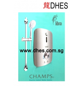 Champs Libra Silver Electric Instant Shower Heater