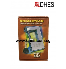 Vanni High Security Hardened Steel Casing Padlock