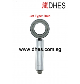 A.Circle High Pressure Hand Shower (2 Functions)