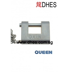 Queen Stainless Steel Armour-plated Padlock