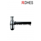 ADL Brass Chrome Plated Bottle Trap Comes With 190mm Pipe & Flange